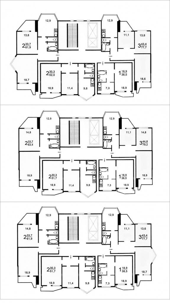 серия дома П-44Т,