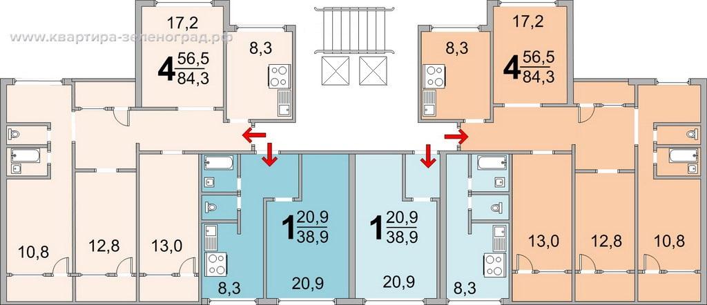 Планировки квартир в Зеленограда сайт www.квартира-зеленоград.рф