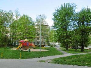 Зеленоград 10 микрорайон зеленый двор