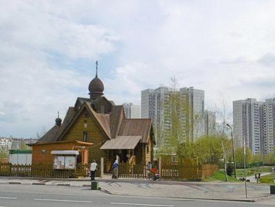 Церковь в 16 районе Зеленоград